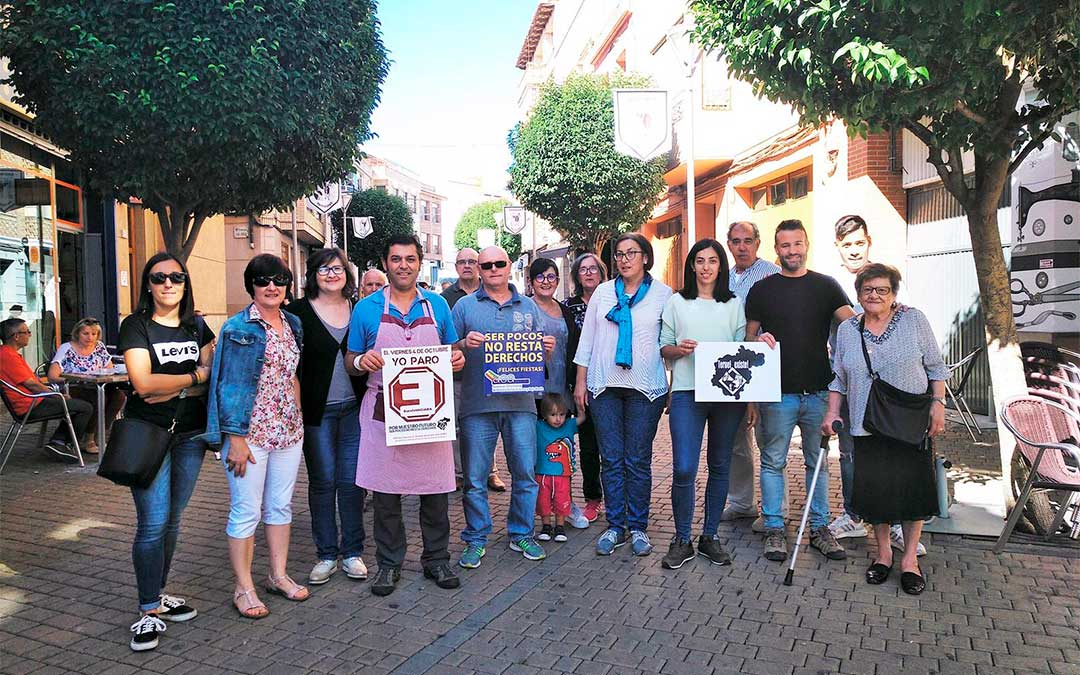 Comerciantes de la avenida San Jorge de Andorra