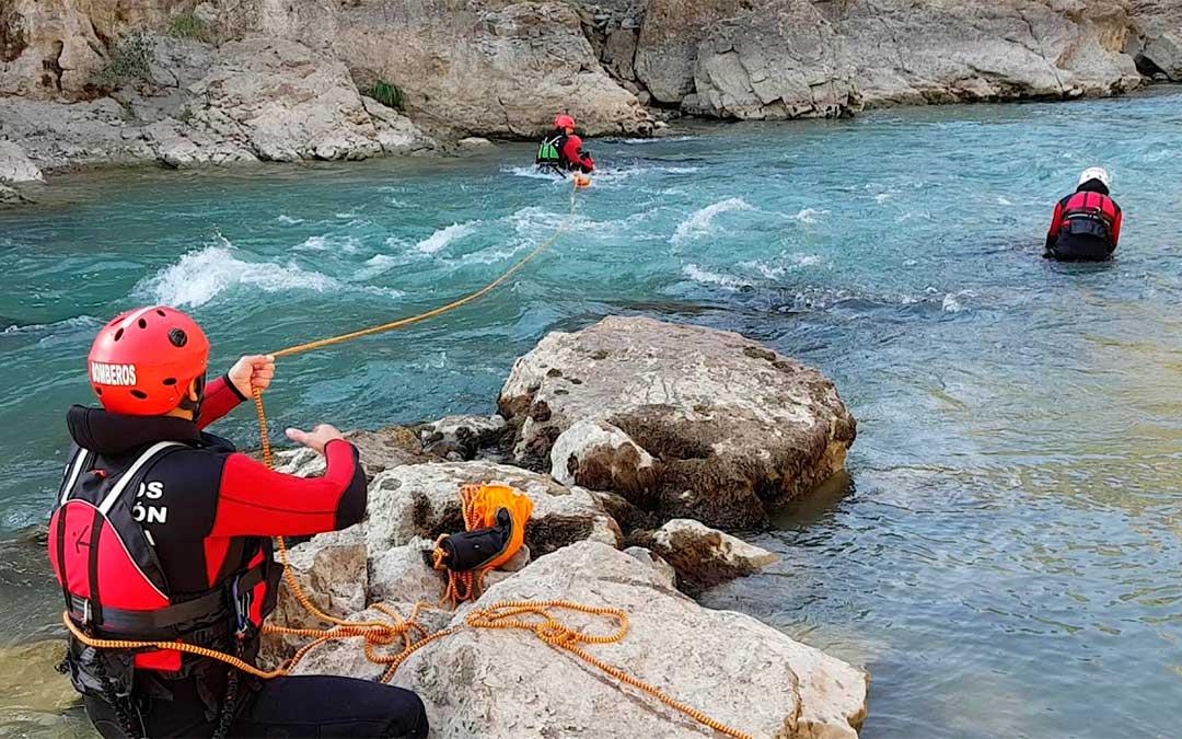 Taller de rescate acuático en superficie./ DPZ.