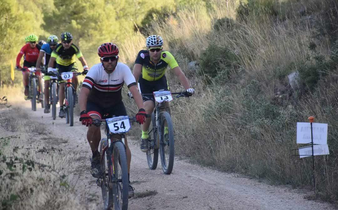 110 ciclistas se dan cita en la BTT Villa de Calanda