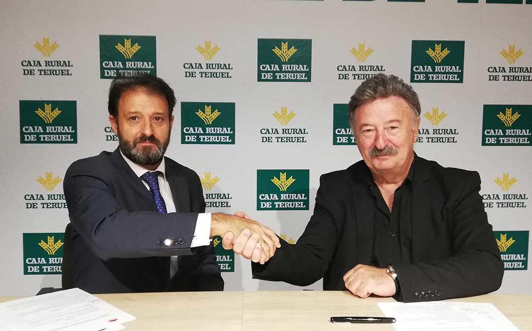 Cuencas Mineras firma un convenio con Caja Rural de Teruel para potenciar las actividades deportivas