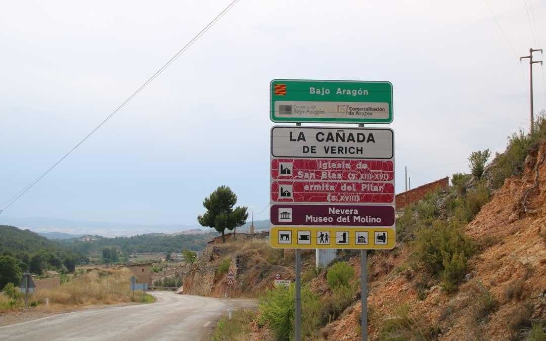 Entrada de La Cañada de Verich.