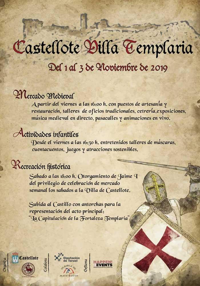 Castellote Villa Templaria 2019