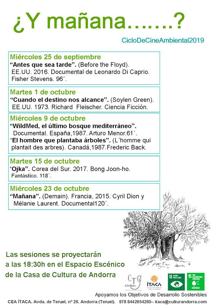 Ciclo de Cine Ambiental en Andorra ¿Y mañana?