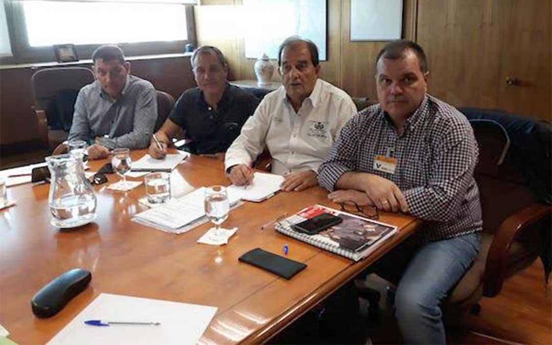 UGT FICA ha estado representada por el responsable del sector, Víctor Fernández, junto a José Luis Alperi (SOMA FITAG UGT), Jorge Díez (UGT FICA Castilla y León) y Francisco Montull (UGT FICA Aragón) /UGT