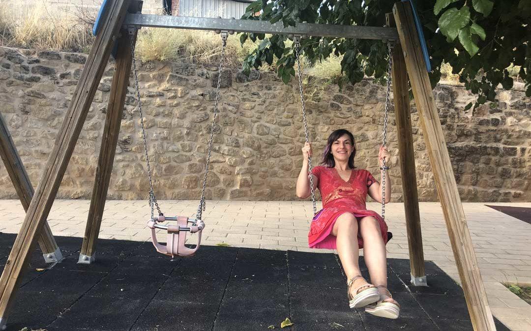 Marta Navarro: «En realidad no soy muy de política, pero quiero darle un futuro a mi pueblo»