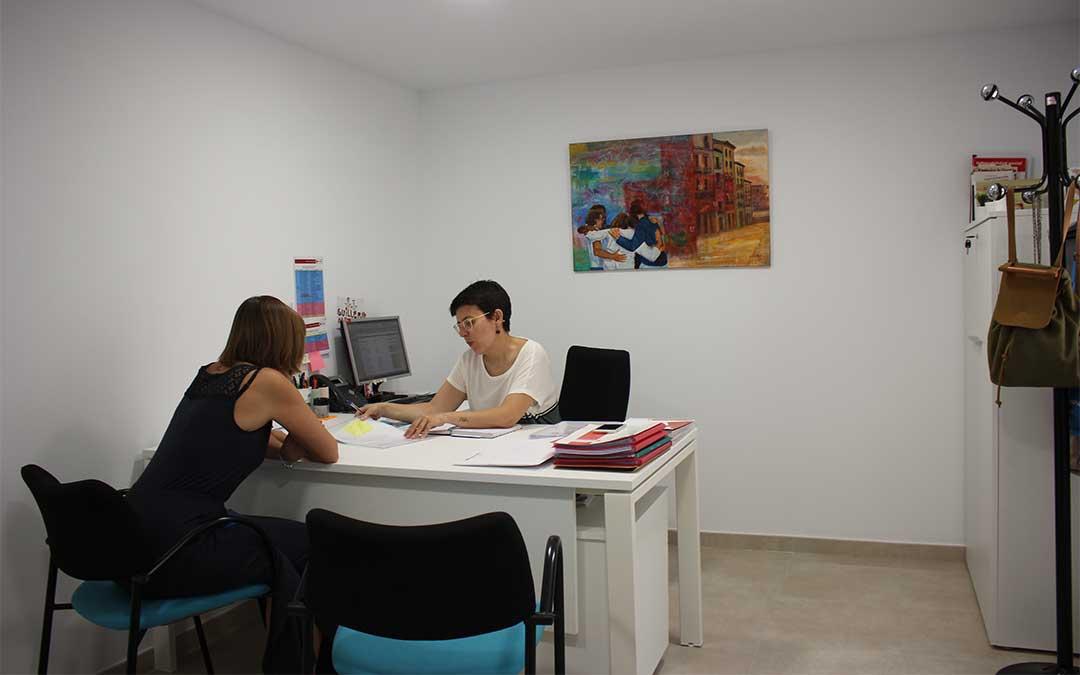 Imagen de archivo. Sede de la Cruz Roja Bajo Aragón en Alcañiz./ M. Celiméndiz