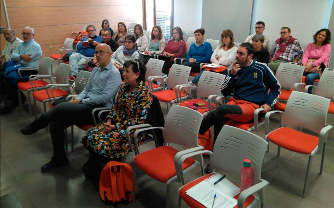 Alumnos del curso de la Universidad de Verano de Teruel sobre 'Patrimonio y despoblación' en el Maestrazgo./ Comarca del Maestrazgo