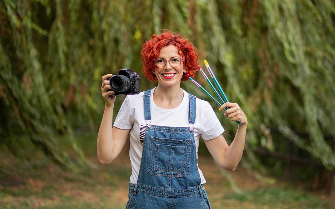 Cristina Espada es la creadora del proyecto 'DADÚ: Mundo Rural Creativo'.