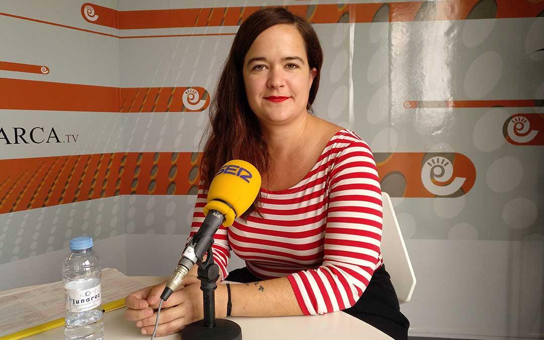 María Goikoetxea en 'Hoy es tu día' de Radio La Comarca.