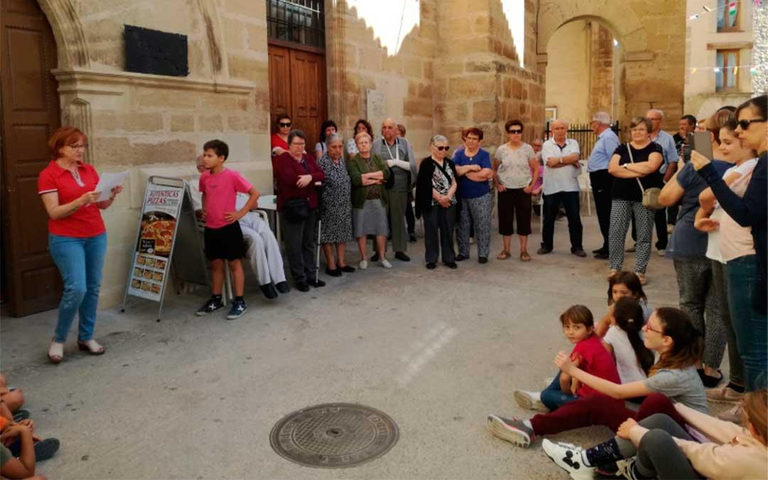 Los vecinos de La Codoñera han parado por la España vaciada.