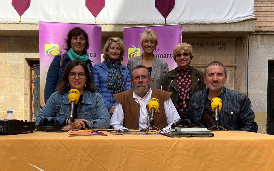 Participantes en el especial emitido desde Alcorisa./L.C.