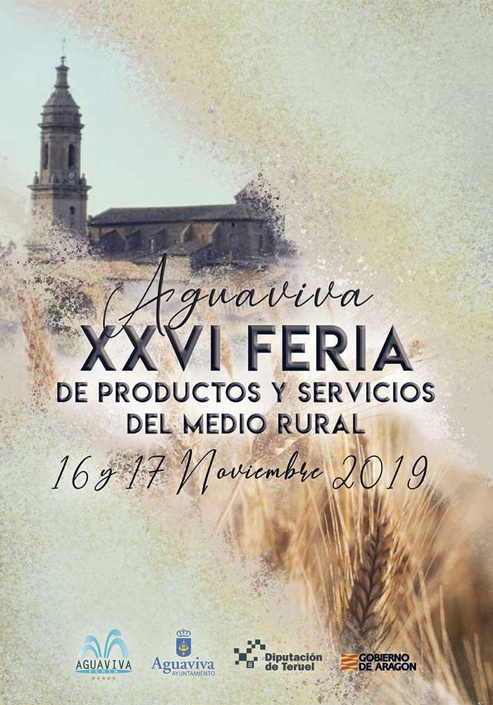 XXVI Feria de productos y servicios del medio rural de Aguaviva