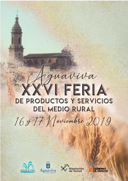 Cartel ganador de la XXVI Feria de Aguaviva.