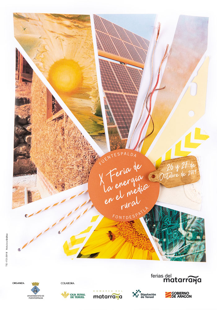 X Feria de la Energía en el medio rural en Fuentespalda