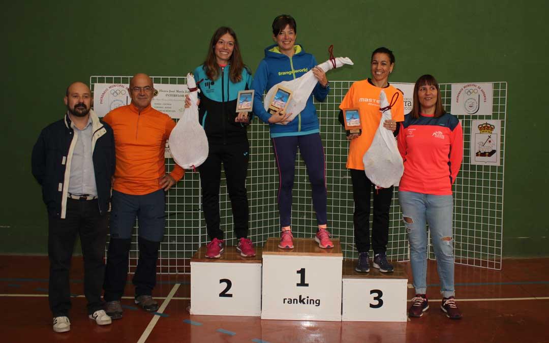 En lal 10K categoría femenina, la primera clasificada ha sido Beatriz Altaba Sanz de Alcañiz (44:20), segunda Susana Luaces Orobitg del club Ada Zuera (46:24) y tercera Miriam García Ruiz de Zaragoza (48:13) / L. Castel