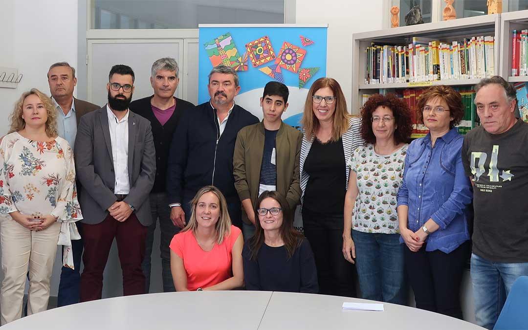 Presentación del Programa de Cualificación de Tareas Domésticas y Limpieza de Edificios del CPEE Gloria Fuertes de Andorra./ ATADI