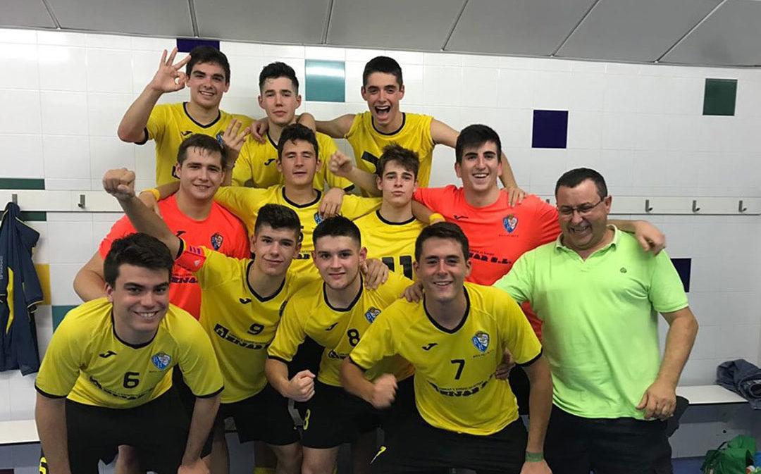 El Boca Híjar F. S. de División de Honor Juvenil sigue con su buena racha de resultados