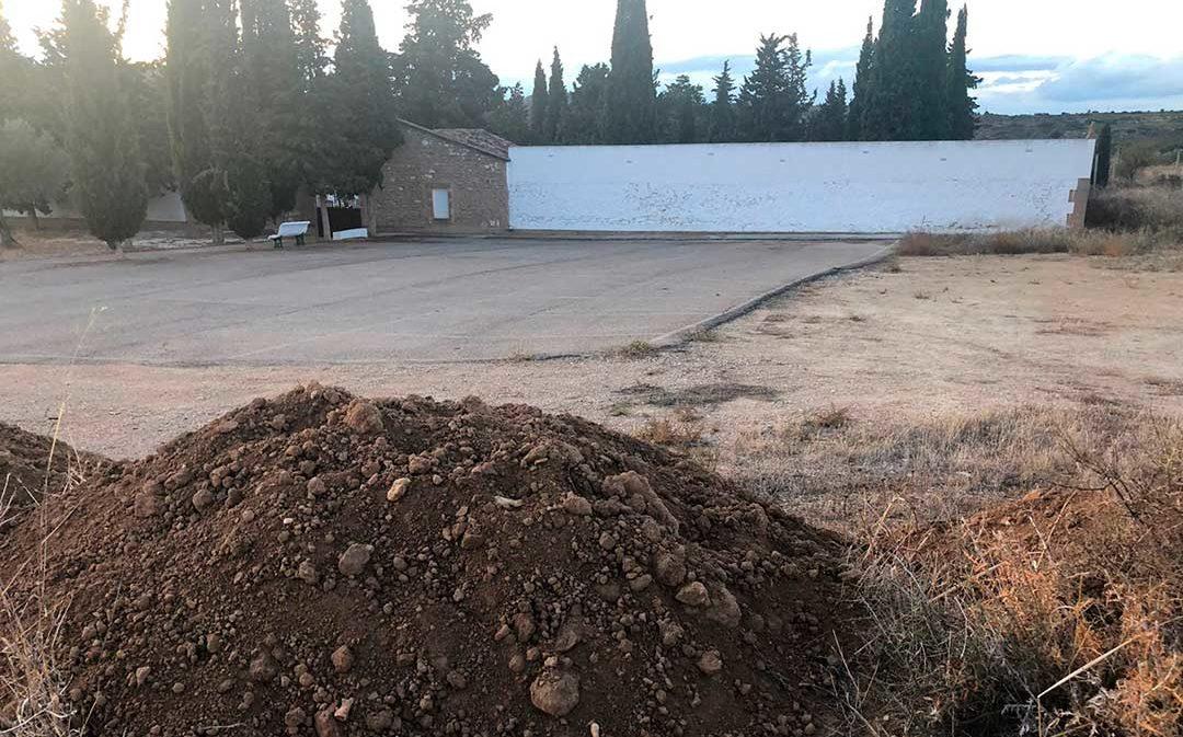 """CHA Maella denuncia """"irregularidades"""" en las obras del cementerio"""