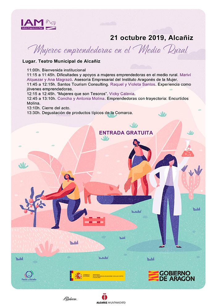 Jornada de Mujeres emprendedoras en el Medio Rural en Alcañiz