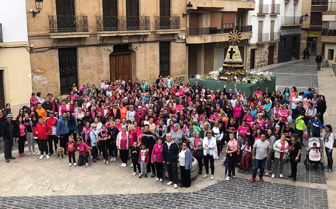 Marchas solidarias en Alcañiz y Calanda contra el cáncer de mama