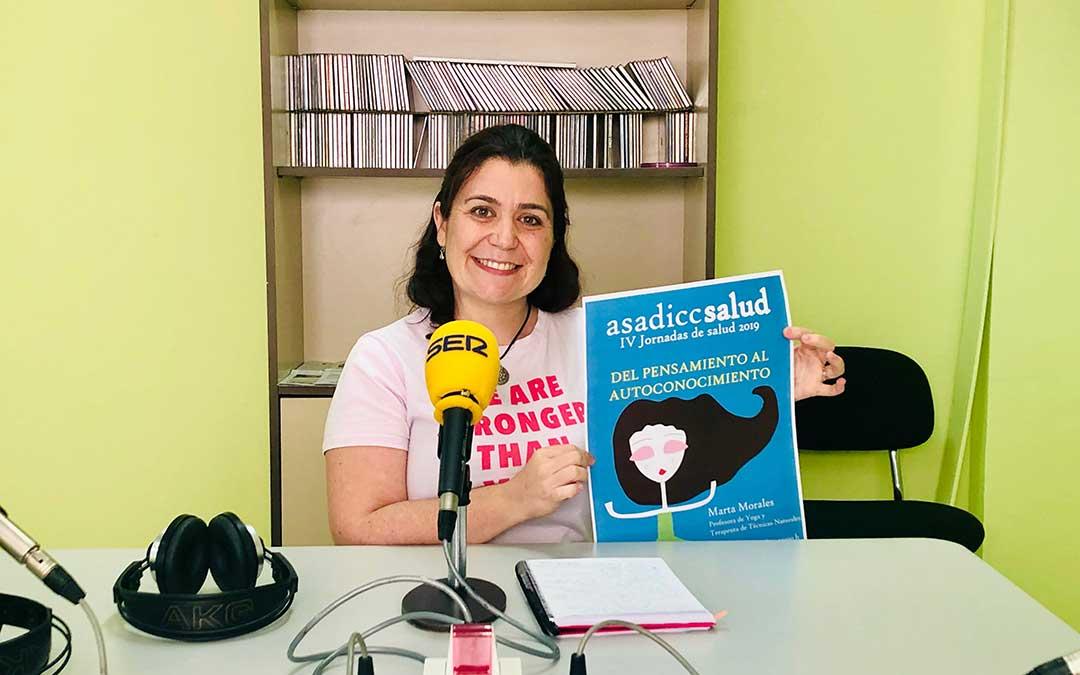 Marta Morales será la primera ponente de las jornadas de ASADICC Salud.
