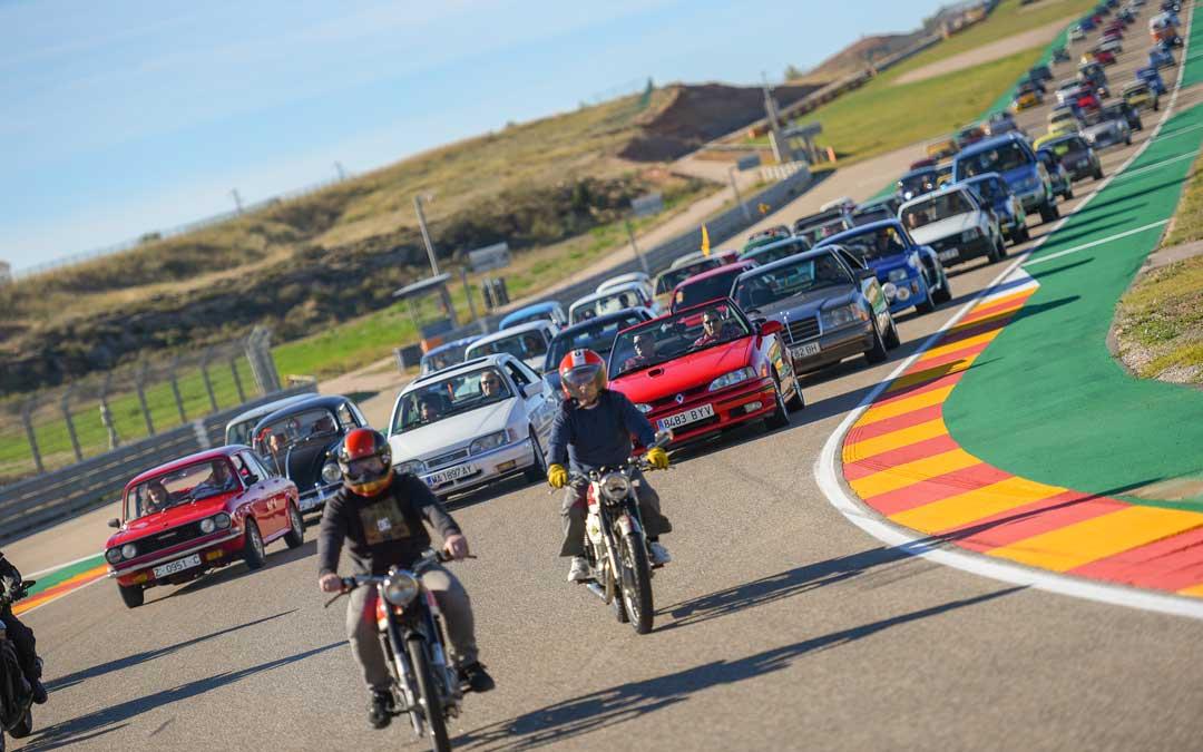 Los automóviles clásicos tomarán el circuito alcañizano de Motorland.