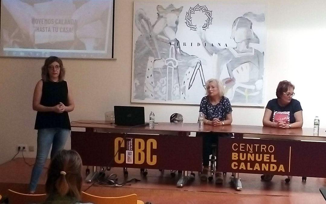 Presentación de 'Movemoscalanda' en la sala multiusos del CBC./ Asoc. Calandina de Comercio, Industria y Servicios