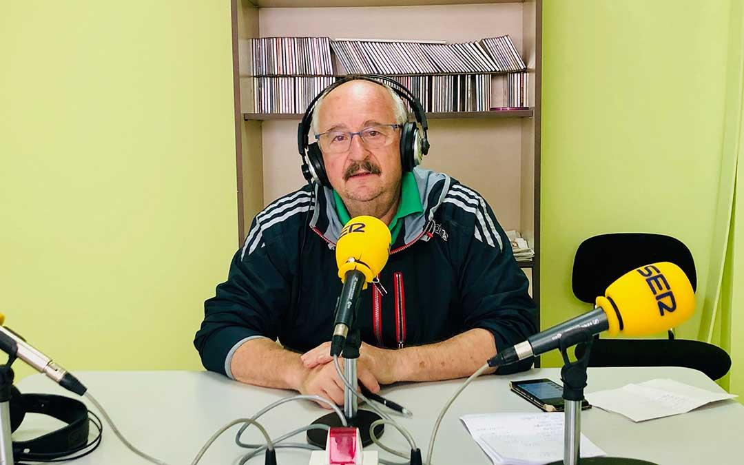 Paco Amador es el presidente del Club Zalagarda.