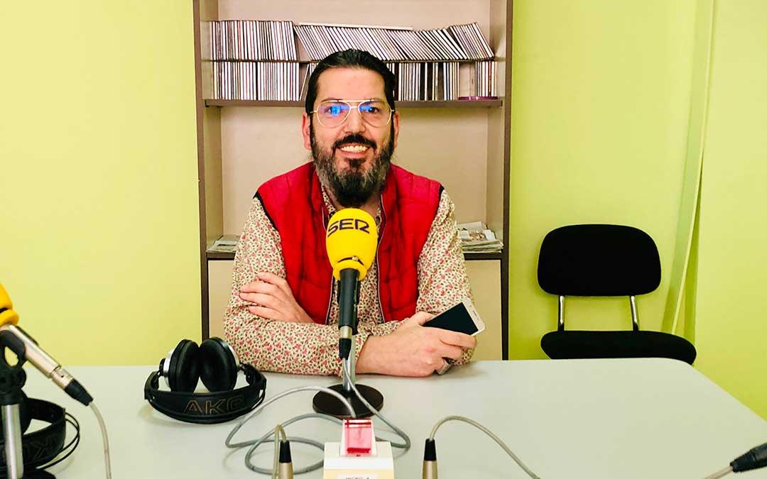 Pedro Palacios es presidente de la Asociación Historica Vestimentum.