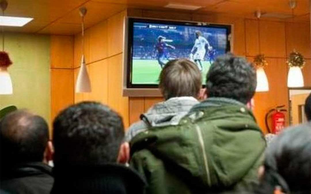 7 bares de Alcañiz y Teruel han sido condenados por piratear partidos de fútbol