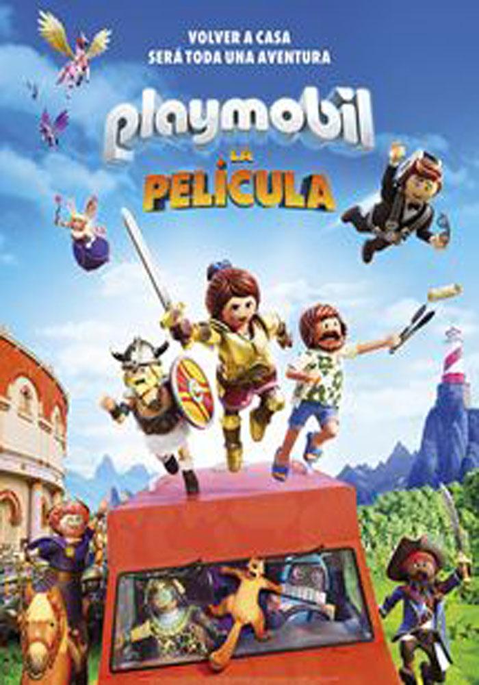 """Cartelera Alcañiz """"Playmobil: La película"""""""