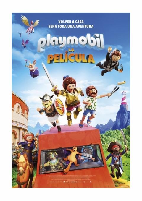 """Cartelera Caspe """"Playmobil: La película"""""""