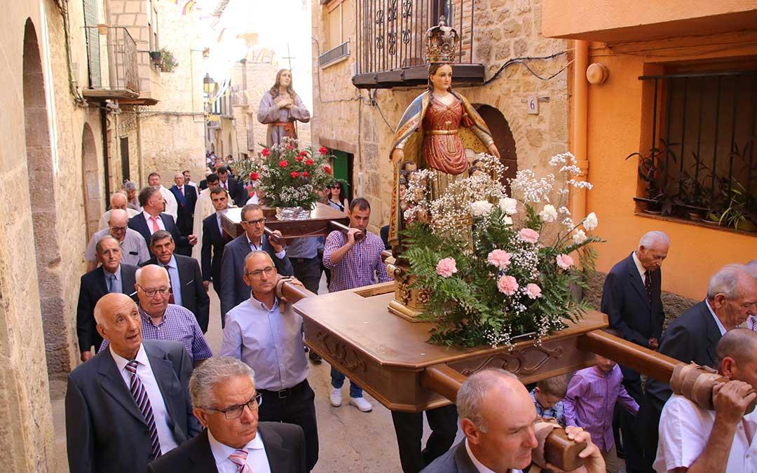 procesion cretas santa pelagia y nuestra senora misericordia