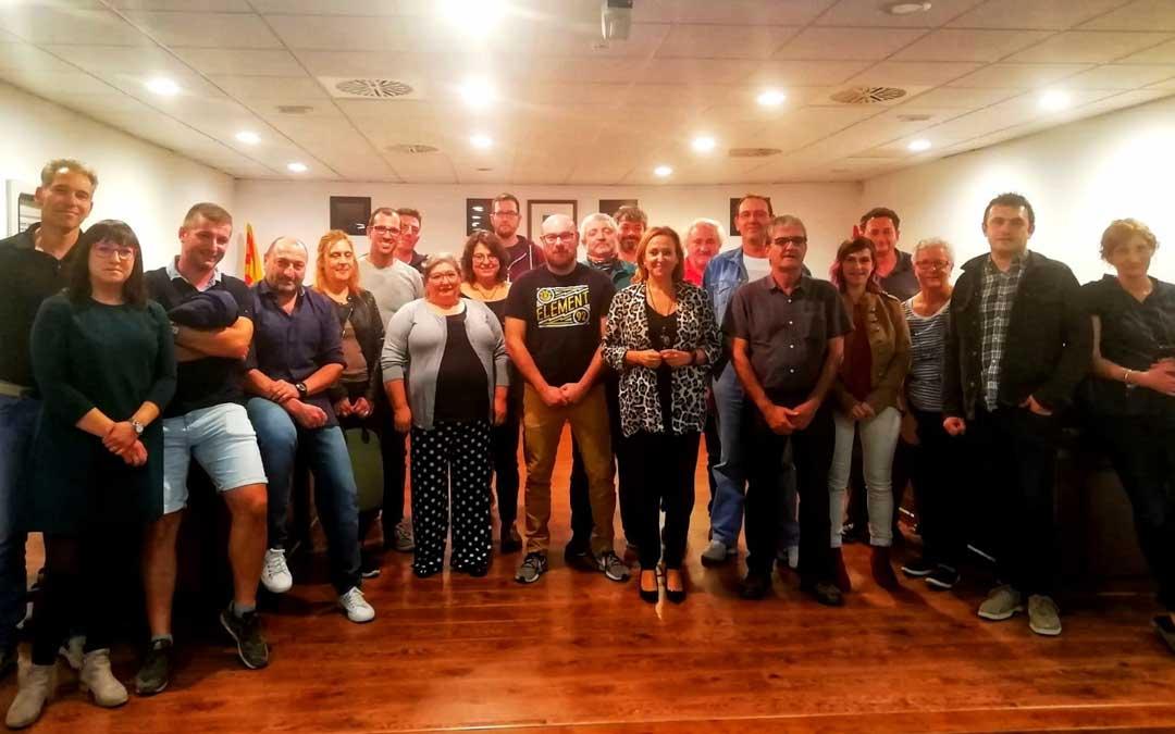 La reunión tuvo lugar en la sede de la comarca del Matarraña en Valderrobres.
