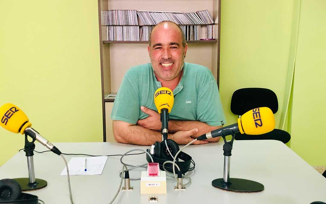 Rafael Guardia es concejal de Medioambiente del Ayuntamiento de Caspe