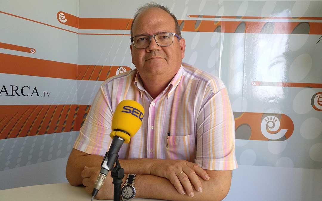 Ramón Panadés, concejal de Medio Ambiente del Ayuntamiento de Alcañiz.