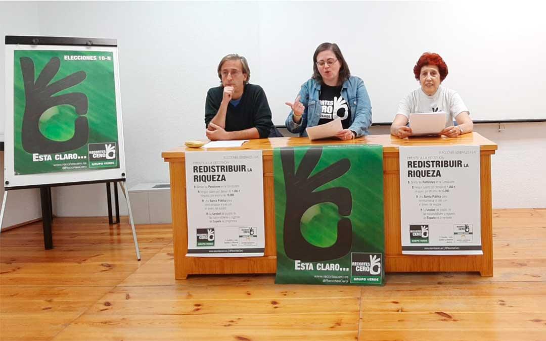 Candidatos de coalición Recortes Cero – Grupo Verde