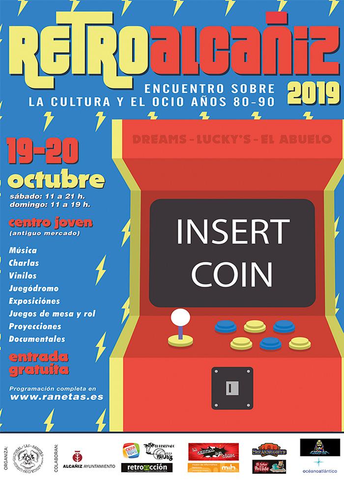 Retro Alcañiz 2019 «Encuentro sobre la cultura y el ocio años 80 - 90»