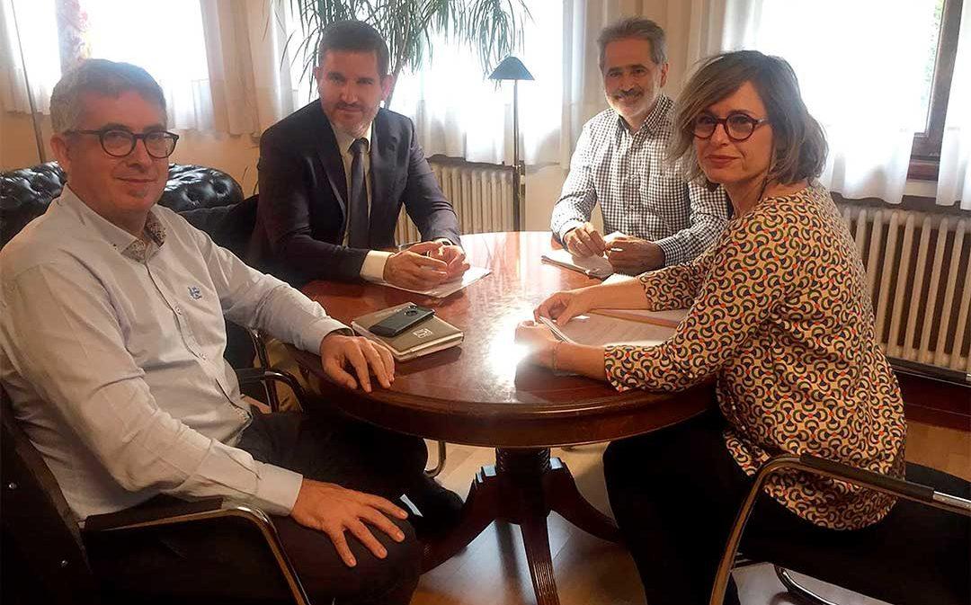 El Ayuntamiento de Alcañiz traslada sus demandas a la CHE