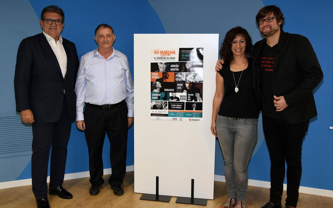 Presentación del cartel en el que participan una decena de artistas. / Carlos Pi