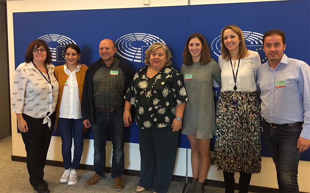 Representantes de la Red de Áreas Escasamente Pobladas del Sur de Europa en la Semana Europea de las Regiones y las Ciudades./ SSPA
