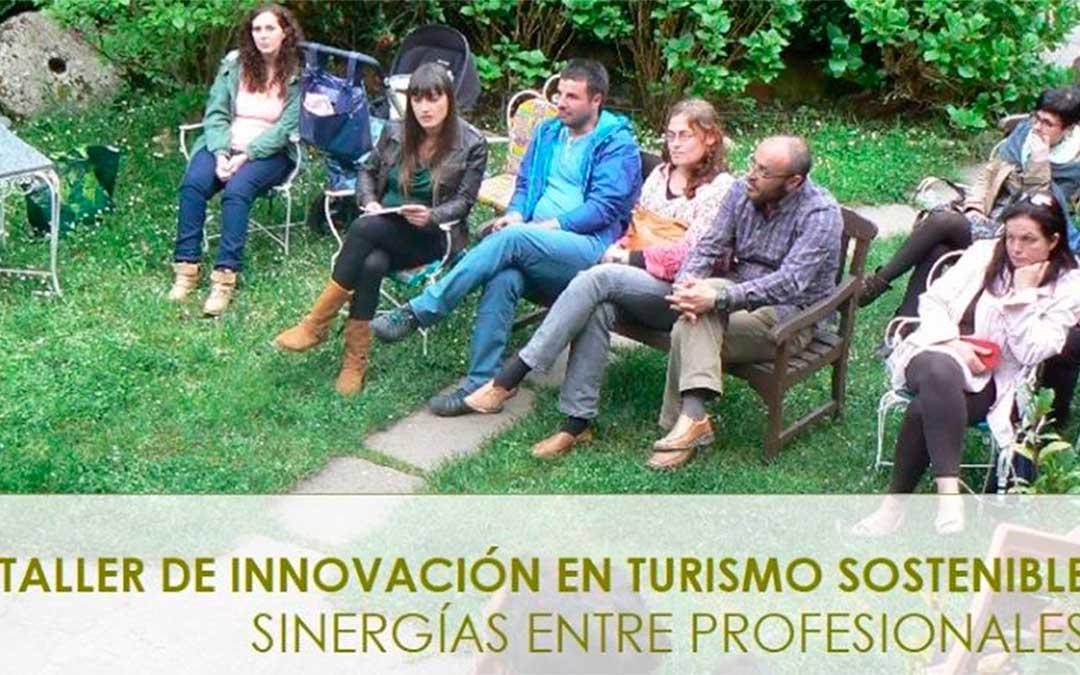Cartel de los Talleres de Innovación en Turismo Sostenible