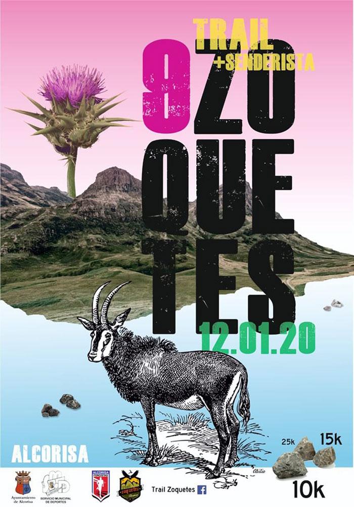 IX Trail Los Zoquetes en Alcorisa