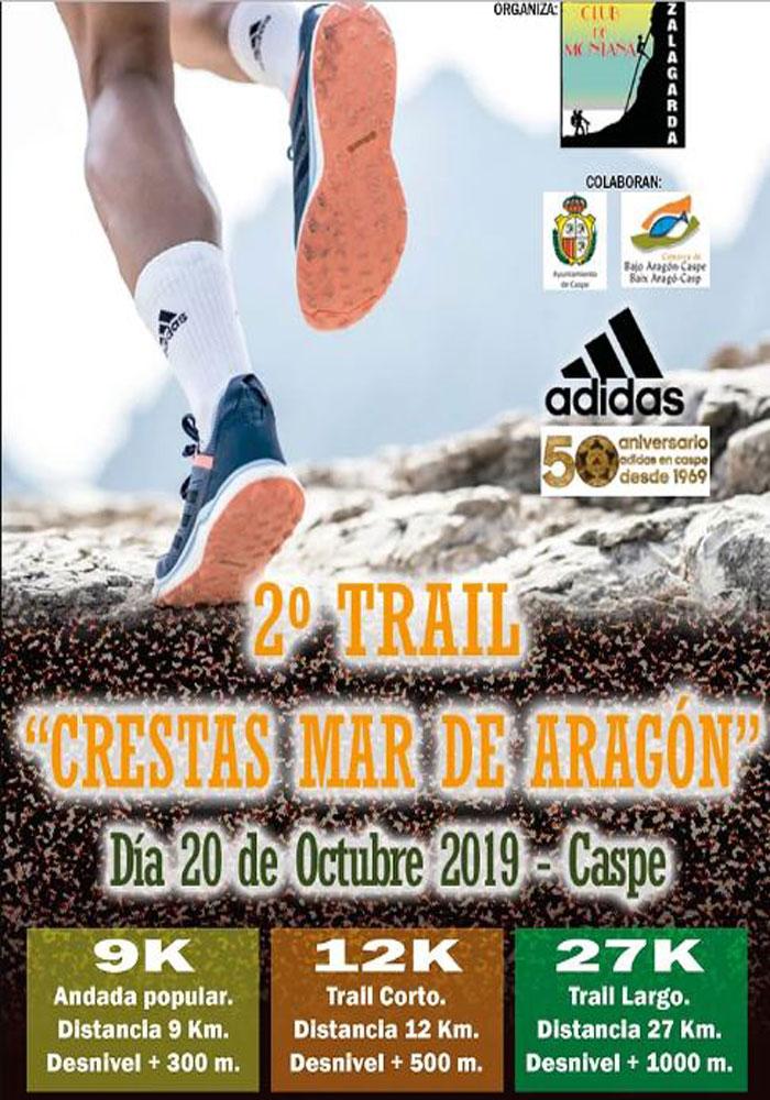 II Trail Crestas Mar de Aragón en Caspe