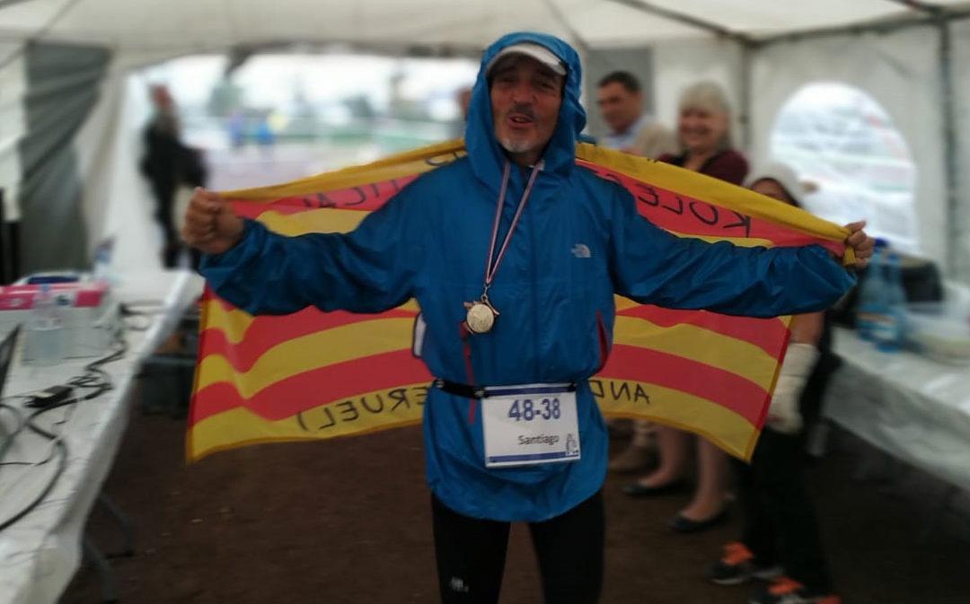 El ultrafondista andorrano Santi Marzo corre 235 km en 48 horas