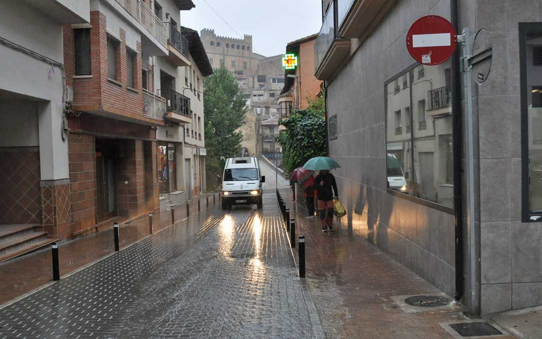 Las lluvias podrían acumular cantidades de precipitación moderadamente abundantes en la zona más oriental.
