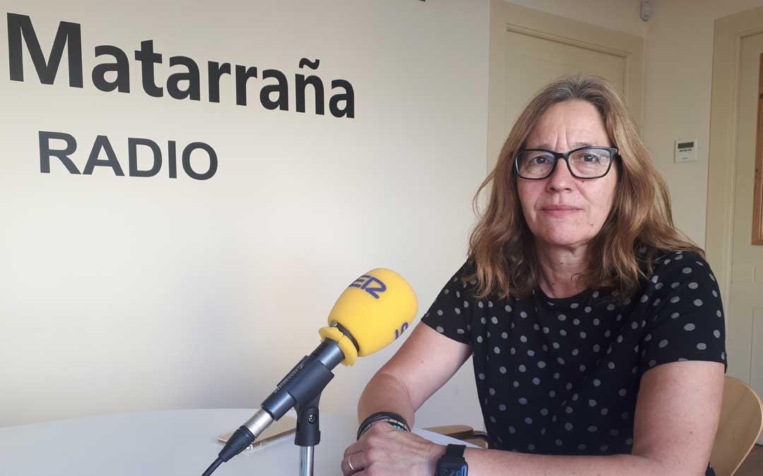 La técnico de deportes de la Comarca del Matarraña, Salomé Roquer