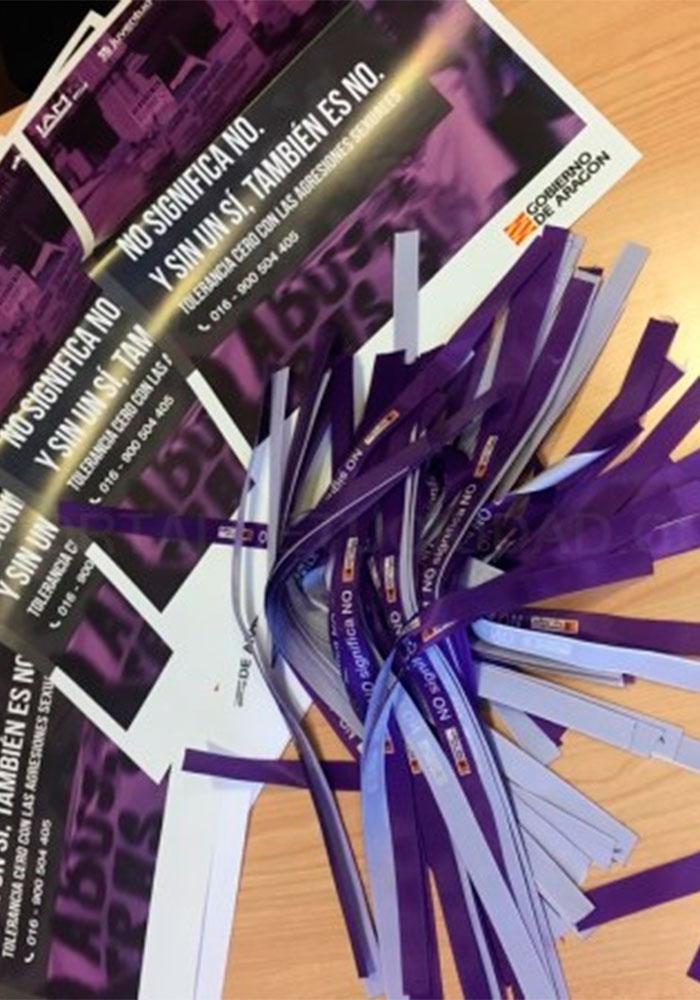 Seminario contra la violencia sexual en Castelserás