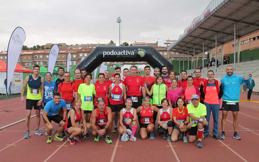 El club Zancadas, clave en la organización de la media maratón y en la 10K Comarca Andorra-Sierra de Arcos