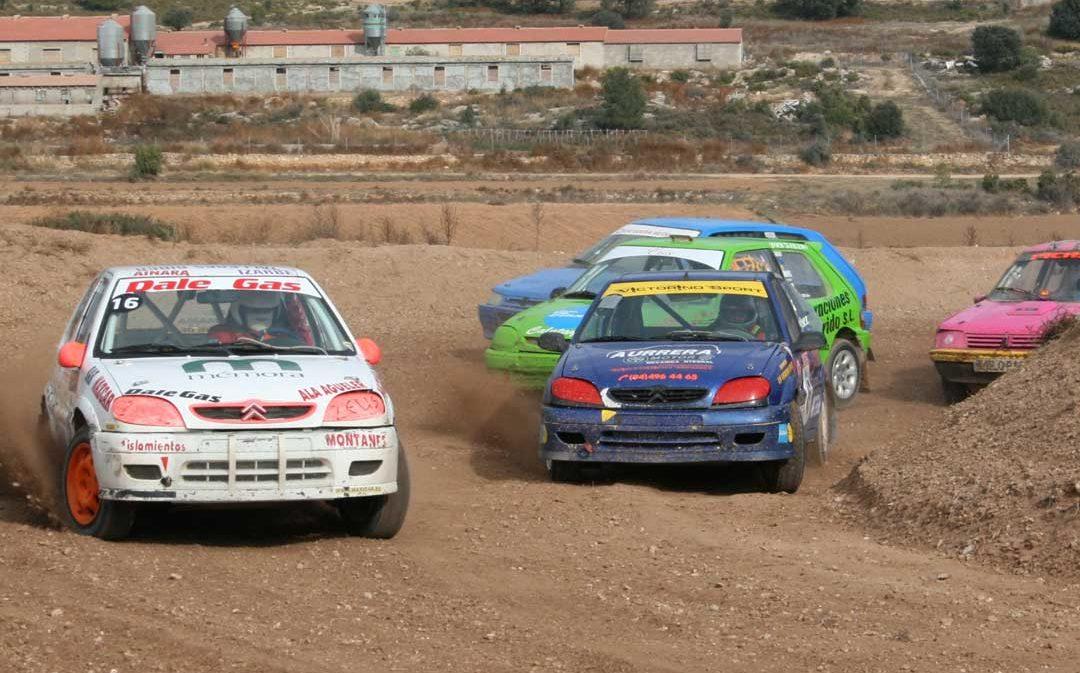 Aguaviva acoge el domingo la última prueba del Campeonato de Aragón de Autocross